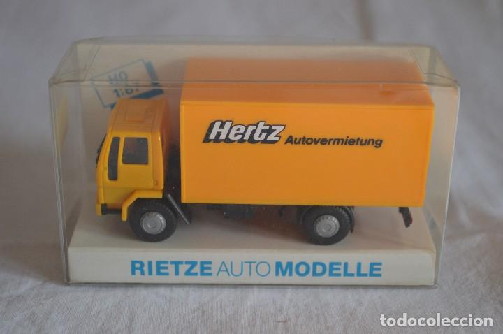 1//87 Rietze streetscooter work l alquiler de coches Hertz 33003
