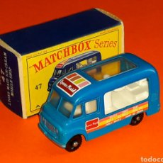 Coches a escala: COMMER ICE-CREAM LYONS MAID REF. 47-B, METAL ESC 1/65, LESNEY MATCHBOX ENGLAND, AÑO 1963. CON CAJA.. Lote 124235972