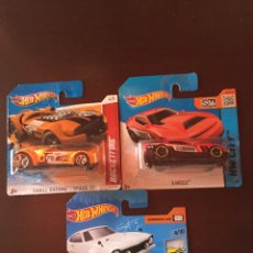Coches a escala: HOTWHEELS LOTE 3 COCHES. Lote 126150434