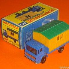 Coches a escala: OFFICE SITE TRUCK REF. 60-B, METAL ESC. 1/87 H0, LESNEY MATCHBOX ENGLAND, AÑO 1966. CON CAJA.. Lote 126353707