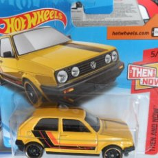 Coches a escala: HOT WHEELS VOLKSWAGEN GOLF MKII. Lote 126737131