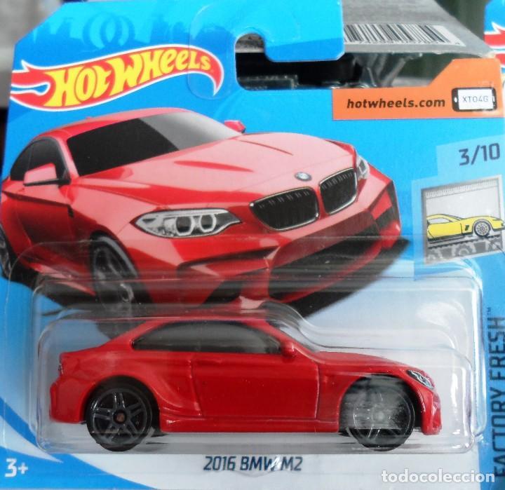 HOT WHEELS BMW M2 ROJO segunda mano