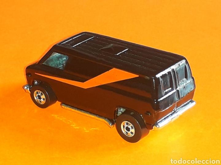 Coches a escala: GMC Van The A-Team, El Equipo A, metal, esc. aprox. 1/65, Hot wheels 1ª serie, original años 80. - Foto 3 - 127551916