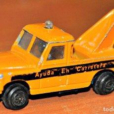 Coches a escala: LAND ROVER AYUDA EN CARRETERA DE GUISVAL. ESCALA 1/65. Lote 128470099