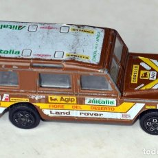 Coches a escala: COCHE LAND ROVER DE BURANGO . ESCALA 1/47 MADE ITALY. Lote 128628639