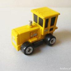 Coches a escala: COCHE AUTOMOVIL TRACTOR AMARILLO MICRO MACHINES FUNRISE 1989. Lote 129636499