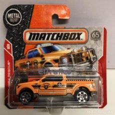 Coches a escala: MATCHBOX MBX RESCUE 4X4, TIPO HOT WHEELS 1:64. Lote 129748891