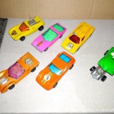 Coches a escala: LOTE MATCHBOX - 6 COCHES SUPERFAST AÑOS 70. Lote 131062324