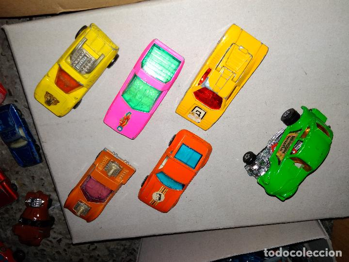 Coches a escala: Lote matchbox - 6 coches superfast años 70 - Foto 2 - 131062324