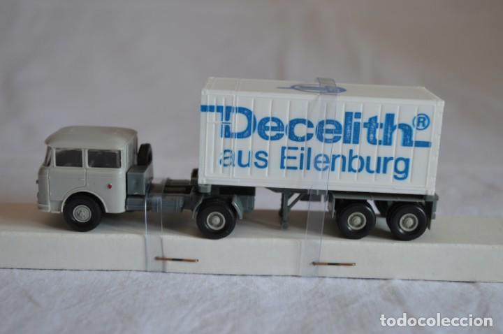 Coches a escala: Camión con semirremolque Skoda. Esc. 1/87. Permot. romanjuguetesymas. - Foto 4 - 131479846