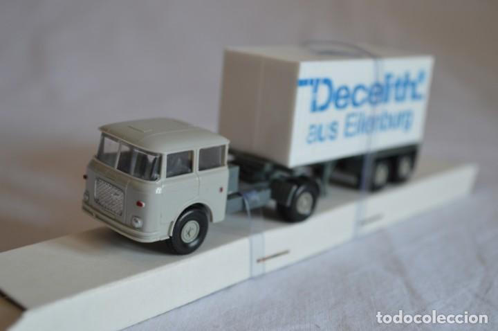 Coches a escala: Camión con semirremolque Skoda. Esc. 1/87. Permot. romanjuguetesymas. - Foto 5 - 131479846