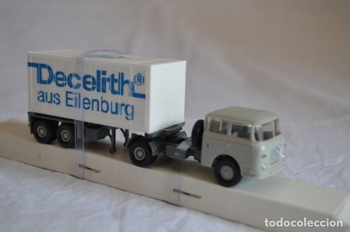 Coches a escala: Camión con semirremolque Skoda. Esc. 1/87. Permot. romanjuguetesymas. - Foto 7 - 131479846