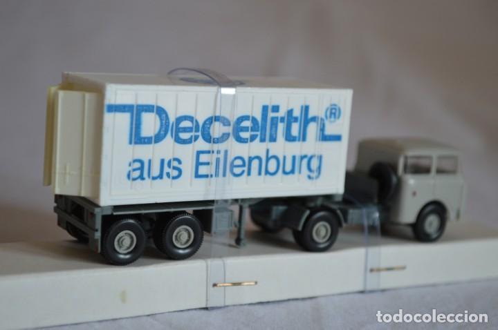 Coches a escala: Camión con semirremolque Skoda. Esc. 1/87. Permot. romanjuguetesymas. - Foto 8 - 131479846