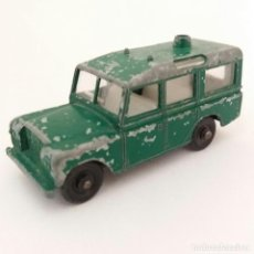 Coches a escala: MADE IN ENGLAND BY LESNEY MATCHBOX SERIES N° 12 LAND ROVER SAFARI. Lote 131580762