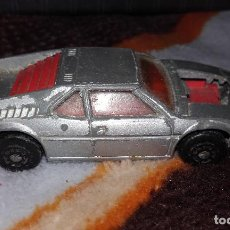 Coches a escala: MATCHBOX LESNEY NÚMERO 52 BMW M1 1981. Lote 132211258