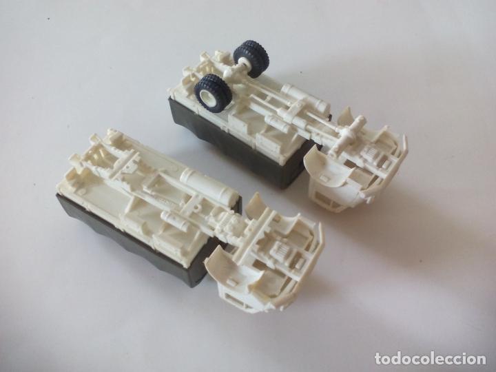 Coches a escala: ROCO. made in AUSTRIA. 2 CAMIÓNES MILITAR DE TRANSPORTE DE SOLDADOS. miniatura, maqueta, modelismo. - Foto 5 - 132572890