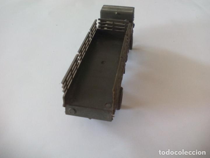 Coches a escala: ROCO. made in AUSTRIA. CAMIÓN MILITAR DE TRANSPORTE. d.b.g.m.. miniatura, maqueta, modelismo. - Foto 3 - 132573290