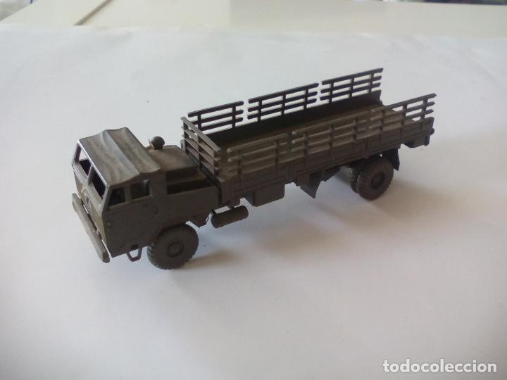 Coches a escala: ROCO. made in AUSTRIA. CAMIÓN MILITAR DE TRANSPORTE. d.b.g.m.. miniatura, maqueta, modelismo. - Foto 5 - 132573290