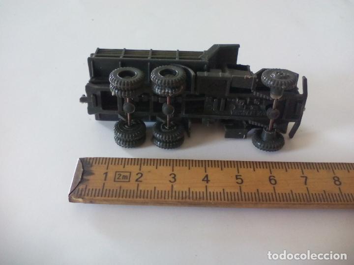 Coches a escala: ROCO. made in AUSTRIA. CAMIÓN MILITAR DE TRANSPORTE. . miniatura, maqueta, modelismo. - Foto 2 - 132573702