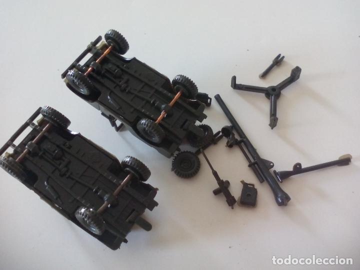 Coches a escala: ROCO. made in AUSTRIA. 2 coches, jeep, militar. miniatura, maqueta, modelismo. - Foto 4 - 132587686