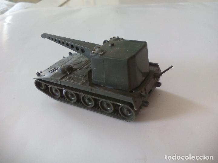 Coches a escala: ROCO. made in AUSTRIA. TANQUE, VEHICULO militar, CARRO DE COMBATE. miniatura, maqueta, modelismo. - Foto 2 - 132589662