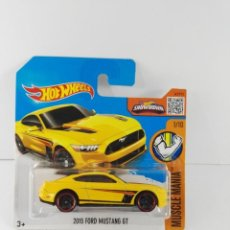 Coches a escala: 2015 FORD MUSTANG GT HOT WHEELS ESCALA 1:64. Lote 132639662