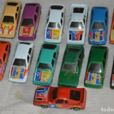 Coches a escala: LOTE 13 COCHES / MARCA MIRA - LOTE MUY VARIADO - DE MIRA, MADE IN SPAIN - VINTAGE. Lote 133142126