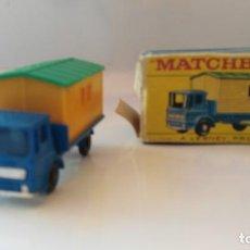 Coches a escala: ANTIGUO COCHE DE MATCHBOX EN CAJA Nº 60 OFFICE SITE TRUCK. Lote 133304482