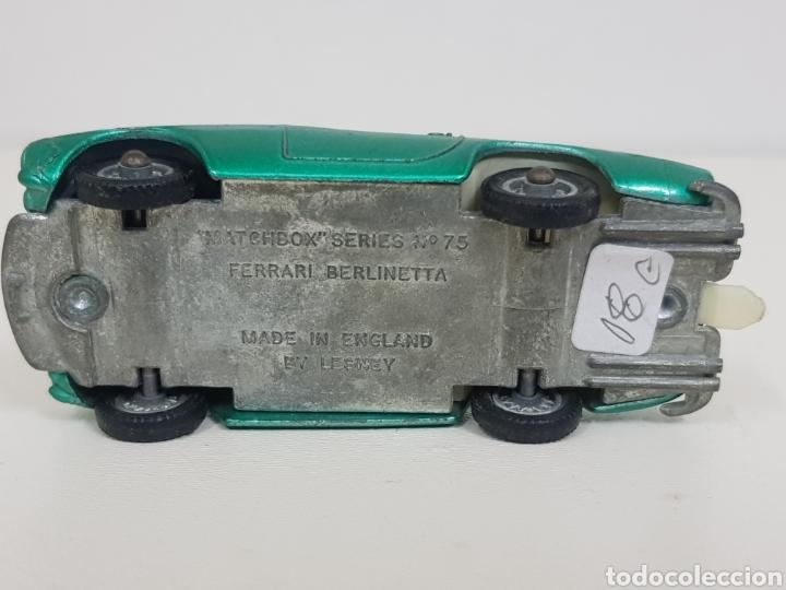 Coches a escala: Matchbox series 75 Ferrari Berlinetta verde manzana - Foto 6 - 133641723
