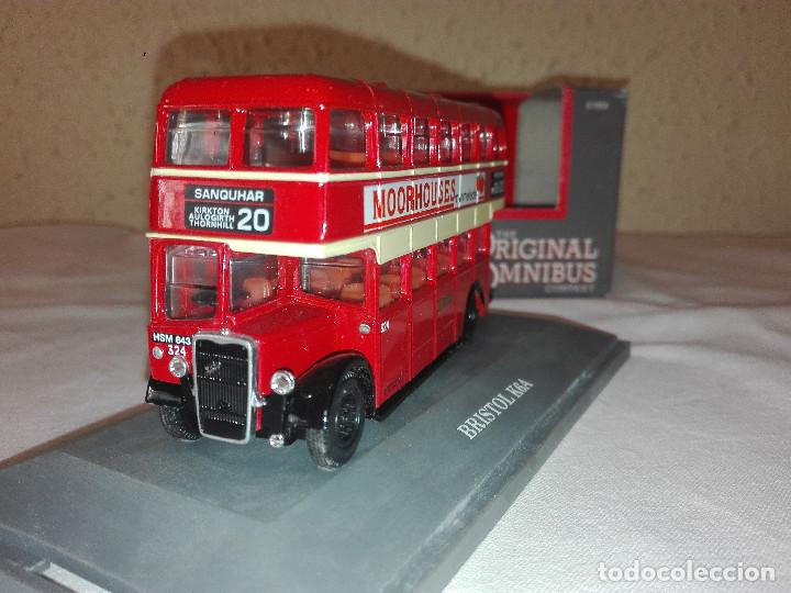 Coches a escala: Autobus 2 pisos BriSTOL K6A Caledonian Omnibus , Corgi Toys escala 1/76 - Foto 2 - 133688054