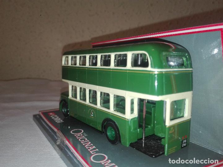 Coches a escala: Autobus 2 pisos Leyland Chesterfield Transport , Corgi Toys escala 1/76 - Foto 2 - 133688086
