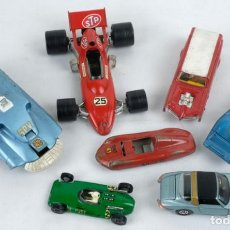 Coches a escala: LOTE 7 COCHES SUPER CHAMPION, POLYTOYS, GIRDI TOYS Y SOLIDO Y DINKY TOYS SPECTRUM PURSUIT. Lote 133761634