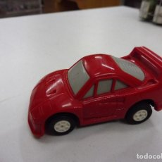Coches a escala: MAJORETTE PUNCH RACERS PUNCHRACERS COCHE ROJO FRICCIÓN. Lote 133826538