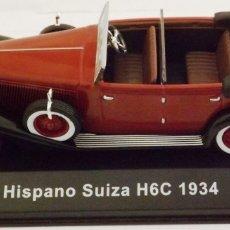 Coches a escala: HISPANO SUIZA H6-C 1934. Lote 212797767