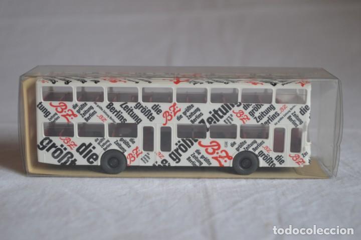 AUTOBÚS MAN SD 200 BELÍN BUS. REF. 73026. ESC. 1/87. WIKING. ROMANJUGUETESYMAS. (Juguetes - Coches a Escala Otras Escalas )