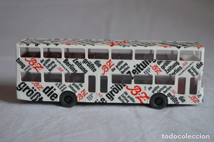 Coches a escala: Autobús Man SD 200 Belín bus. Ref. 73026. Esc. 1/87. Wiking. romanjuguetesymas. - Foto 3 - 134571678