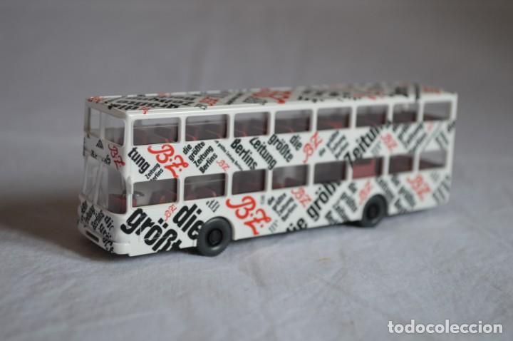 Coches a escala: Autobús Man SD 200 Belín bus. Ref. 73026. Esc. 1/87. Wiking. romanjuguetesymas. - Foto 6 - 134571678