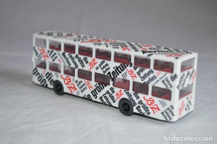 Coches a escala: Autobús Man SD 200 Belín bus. Ref. 73026. Esc. 1/87. Wiking. romanjuguetesymas. - Foto 7 - 134571678