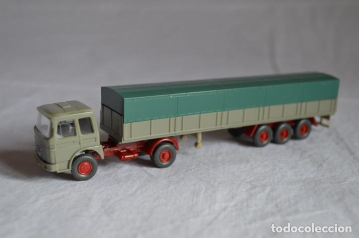 Coches a escala: Antiguo camión con semirremolque Man. Ref. 517. Esc. 1/87. Wiking. romanjuguetesymas - Foto 4 - 135193030