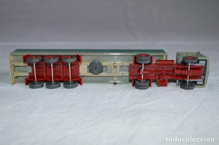 Coches a escala: Antiguo camión con semirremolque Man. Ref. 517. Esc. 1/87. Wiking. romanjuguetesymas - Foto 7 - 135193030