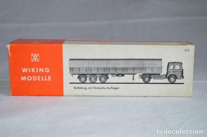 Coches a escala: Antiguo camión con semirremolque Man. Ref. 517. Esc. 1/87. Wiking. romanjuguetesymas - Foto 8 - 135193030