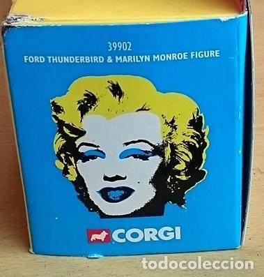 Coches a escala: CORGI REF 39902 FORD THUNDERBIRD Y MARILYN MONROE FIGURA - Foto 5 - 135840258