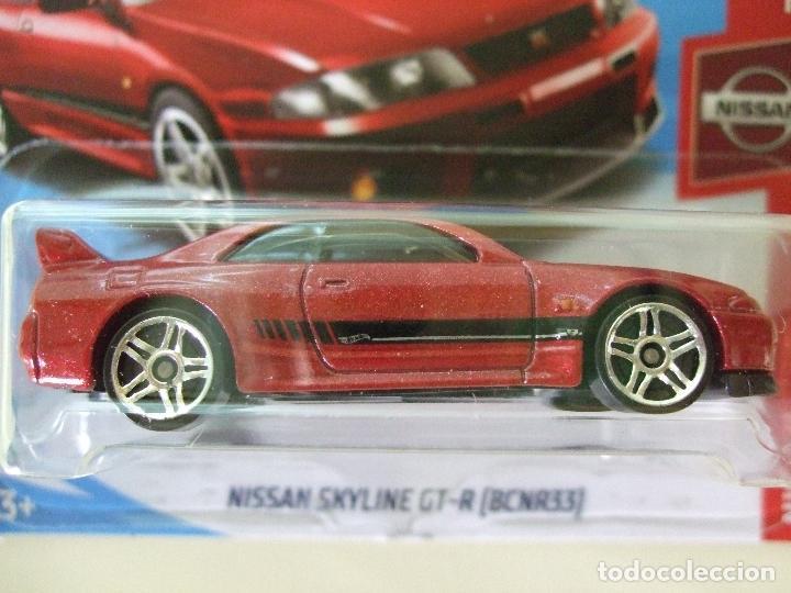 Nissan Skyline Gt R Bcnr33 Hot Wheels Matte Comprar Coches En