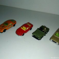 Coches a escala: LOTE GUISVAL 1/64 BASE METAL PORCHE ALPINE TALBOT JEEP. Lote 136219416