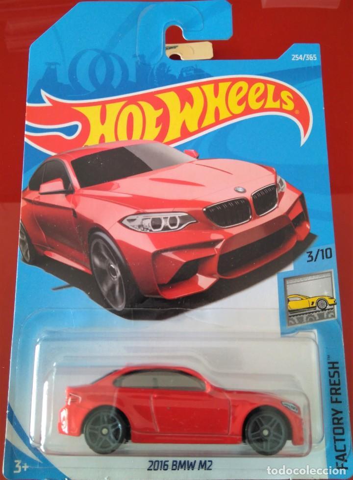 HOT WHEELS 2016 BMW M2 NUEVO EN BLISTER segunda mano