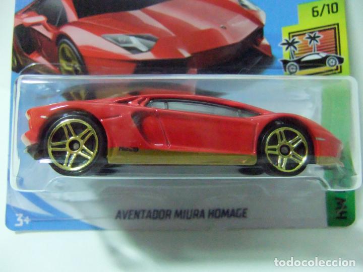 lamborghini aventador miura homage - hot wheel - kaufen modellautos