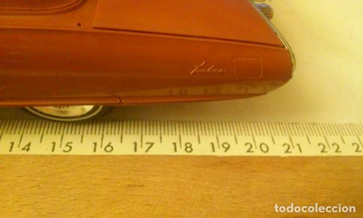 Coches a escala: COCHE CHRYSLER CORPORATION MODELO TURBINE CAR -SCALE ESCALA 1/25- POR JO-HAN (AÑOS 60) - Foto 27 - 137175278