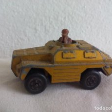 Coches a escala: MATCHBOX LESNEY STOAT VEHICULO MILITAR BLINDADO 1973. ROLAMATICS Nº 28. Lote 138639798