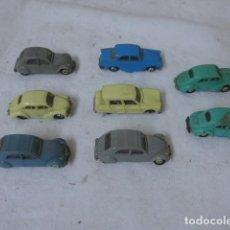 Coches a escala: LOTE DE 8 ANTIGUO COCHE PEQUEÑO MARCA NOREV ORIGINALES, COCHES TIPO MINI CARS. . Lote 138696410