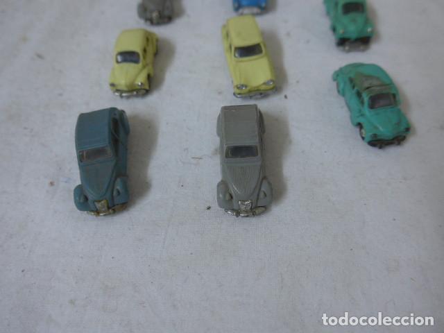 Coches a escala: Lote de 8 antiguo coche pequeño marca Norev originales, coches tipo mini cars. - Foto 2 - 138696410